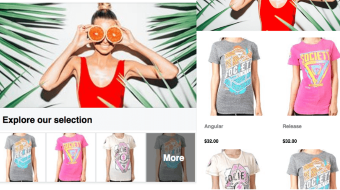 facebook collection ads for ecommerce stores