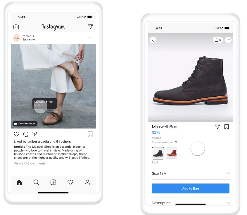 instagram marketing for dropshipping shop now ads