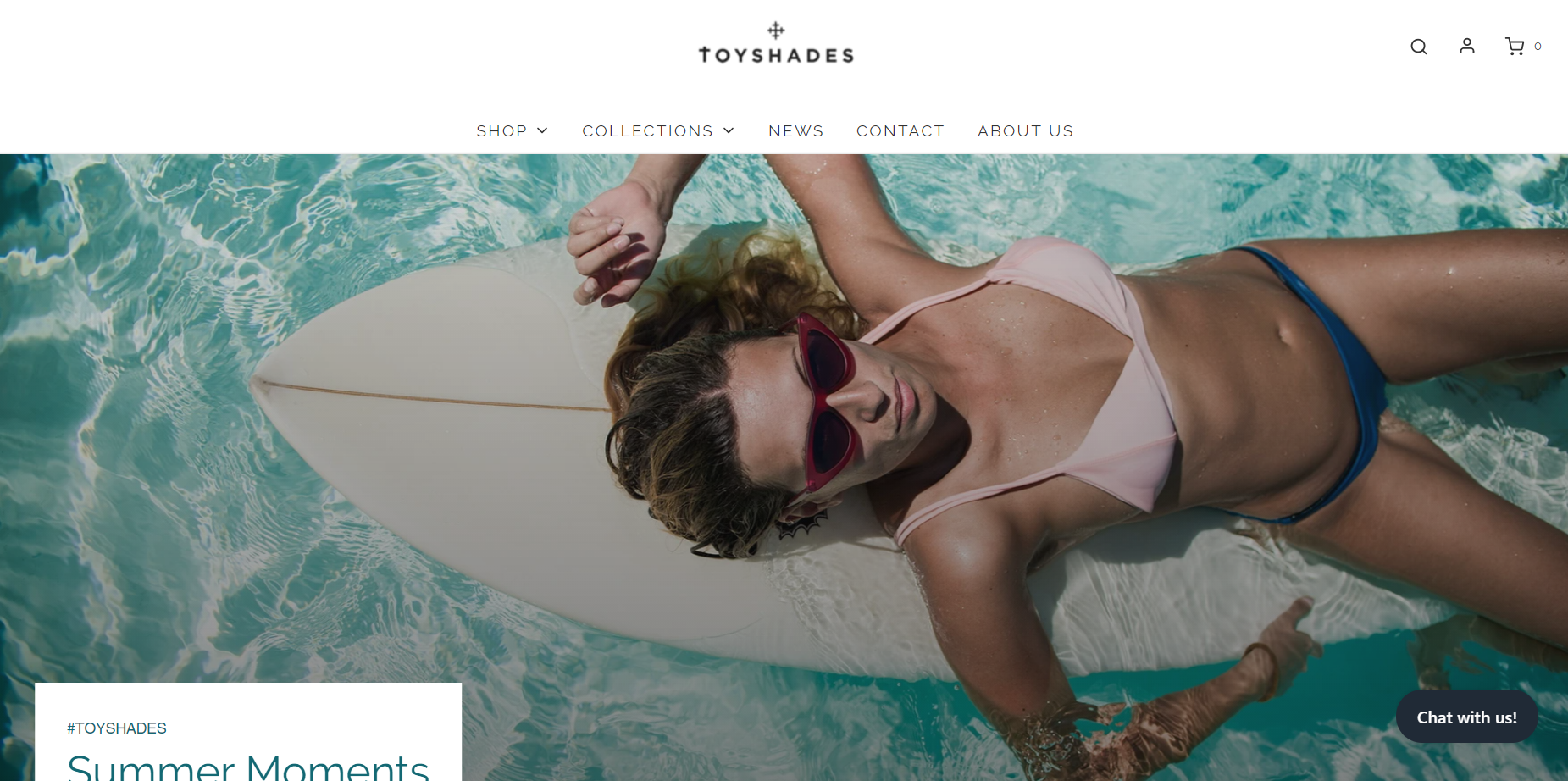 shopify dropshipping store examples - toyshades