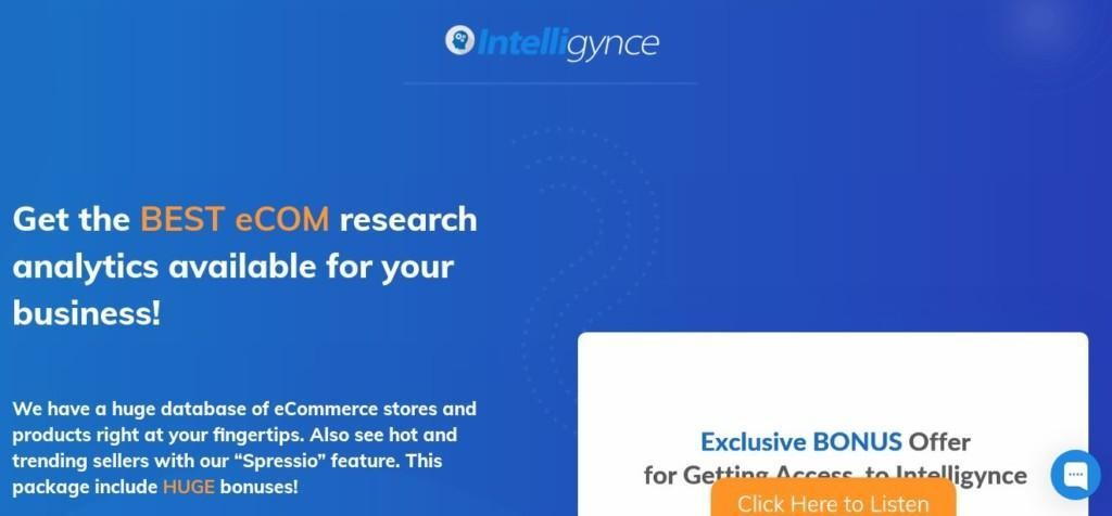 dropshipping product research tools - intelligynce