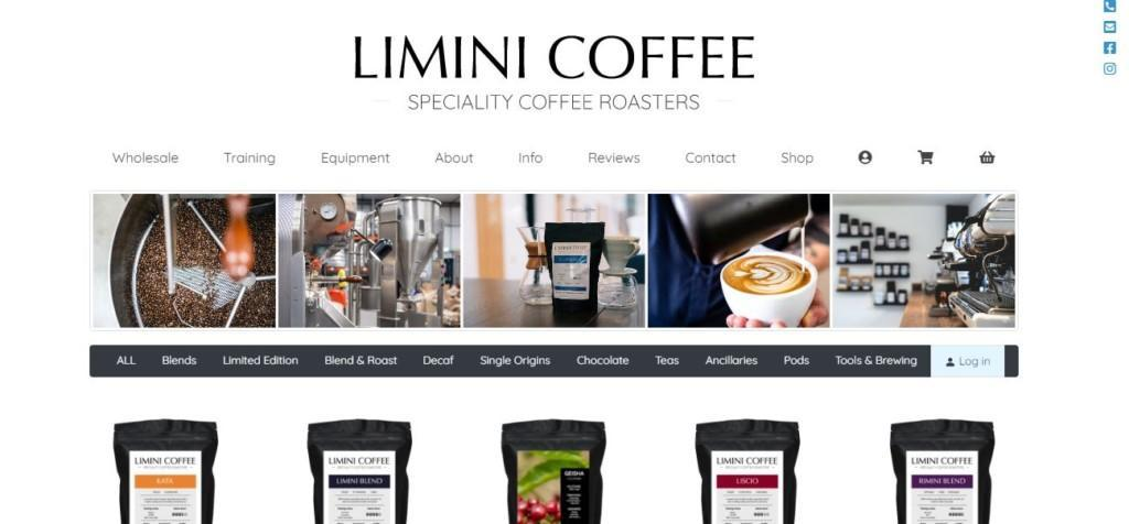limini coffee private label products