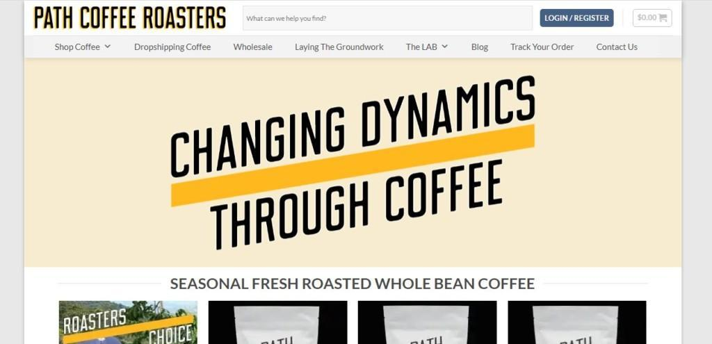 path coffee roasters supplier