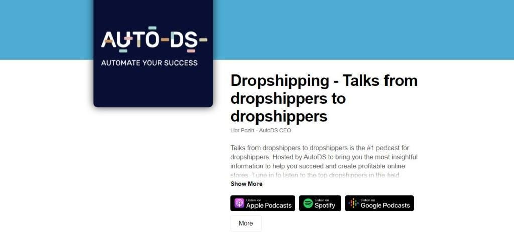 auto ds dropshipping podcasts