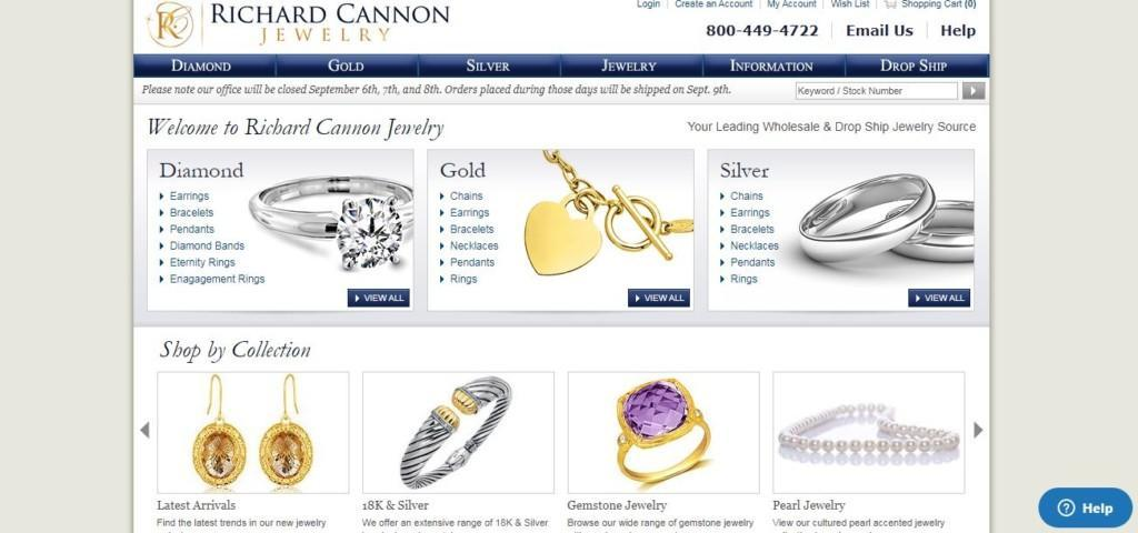 richard cannon jewelry supplier