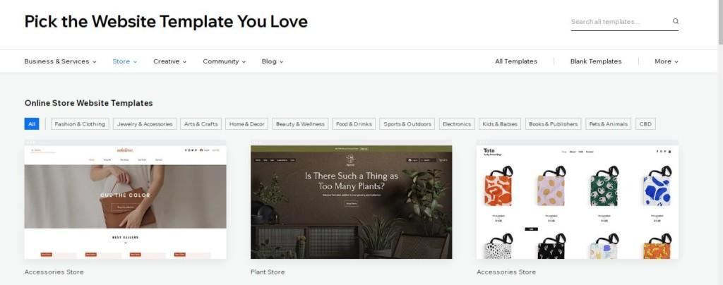 website templates for dropshippers